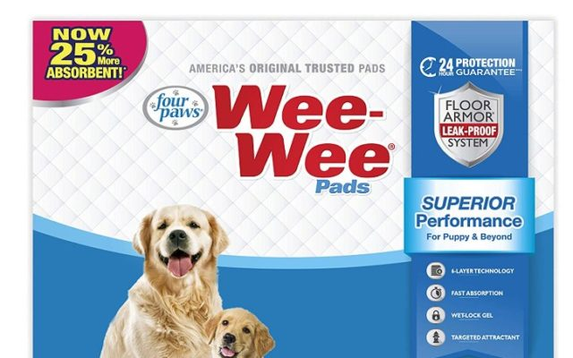 200 Pc Wee Wee Puppy Pee Pads For Dogs 52 42 Reg 109 99