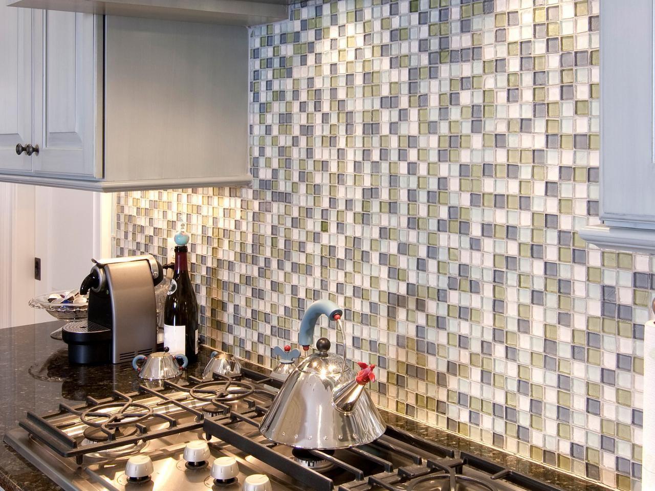 Explore Glass Tile Backsplash Ideas, And Prepare To Install An Attractive  And Efficient Backsplash In
