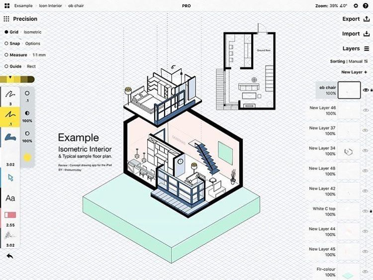 Love This Isometric View Of A Great Floor Plan By Sasunnyday Floor Plans How To Plan Isometric