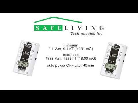 ME3851A EMF Meter by Gigahertz Solutions: Professional Level EMF
