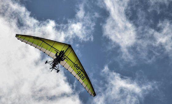Delta, Hang-Glider, Plane