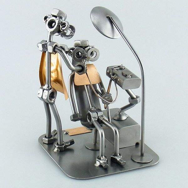 Dentist Gifts - Unique Office Decor - Steelman | nuts & bolts ...