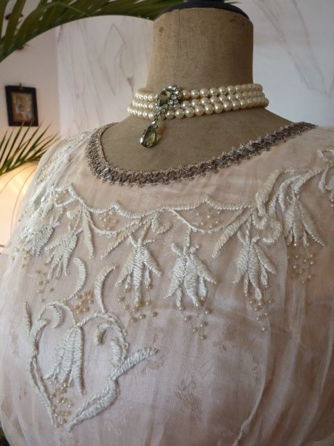 Pale Pink Silk Titanic Era Ball Gown, ca. 1912 | Fashion | Pinterest ...
