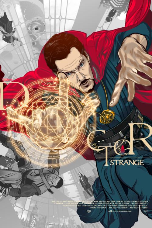Dr. Strange: Sorcerer Supreme - Created by Vincent Rhafael Aseo