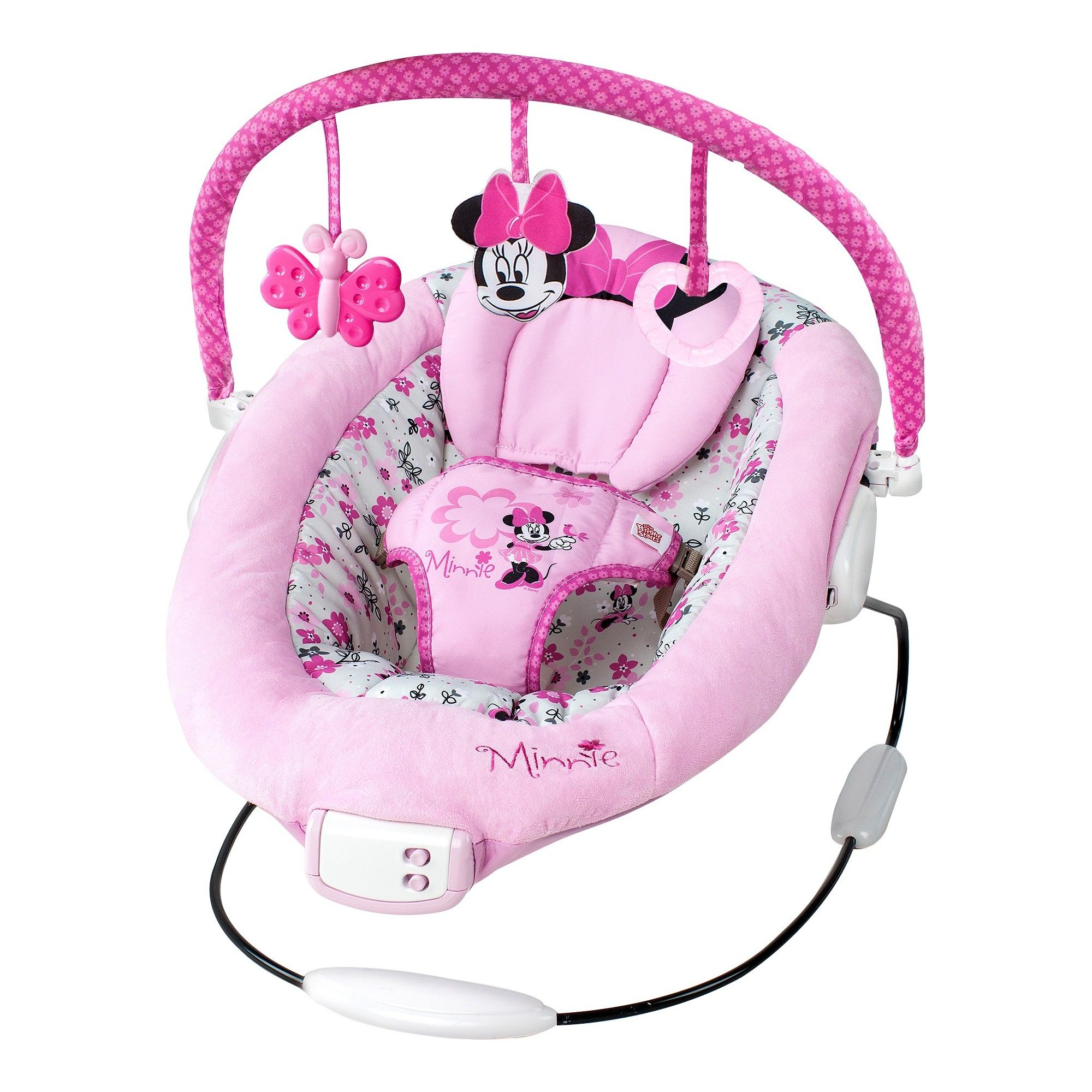548bd9f5bb26 Disney Baby Minnie Mouse Garden Delights Bouncer