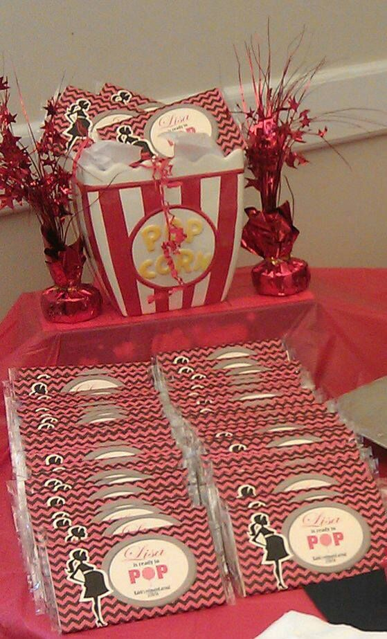 Baby Shower Popcorn Wrapper Ready To Pop Homemade Gifts