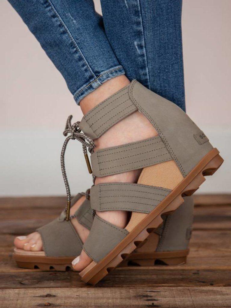 Sorel Joanie II Lace Sandal Sage 10 | + SHOE BOUTIQUE