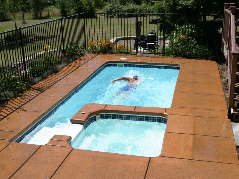 Blue Hawaiian Fiberglass Pools and Spas | HydroZone Design ...