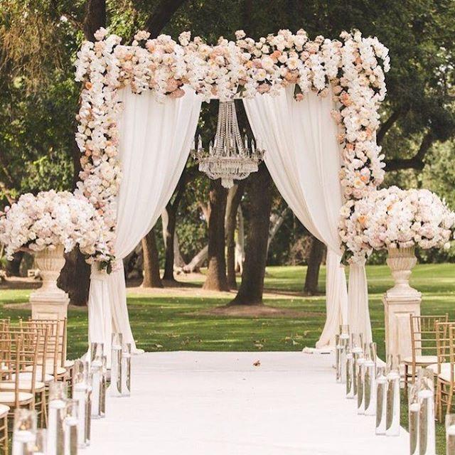 Vintage Wedding Altar Decorations: Pin By Allison On WEDDINGS