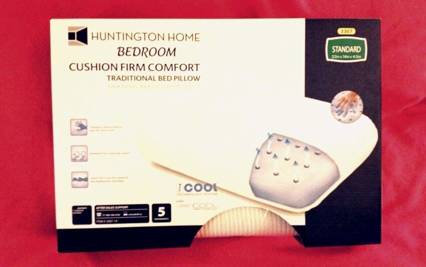 Huntington Home Standard Pillow W Cool Technology System Open Cell