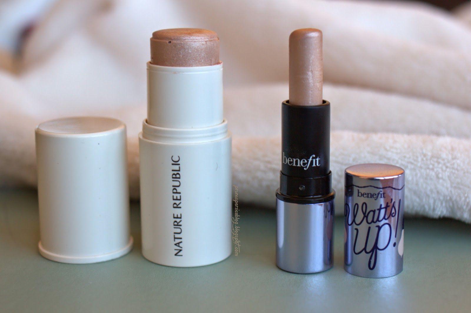 Clon del Watt's up! de Benefit!   Benefit Cosmetics Watt's Up! DUPE  prunuspersicablog.blogspot.com   #benefit #wattsup #highlighter #dupe