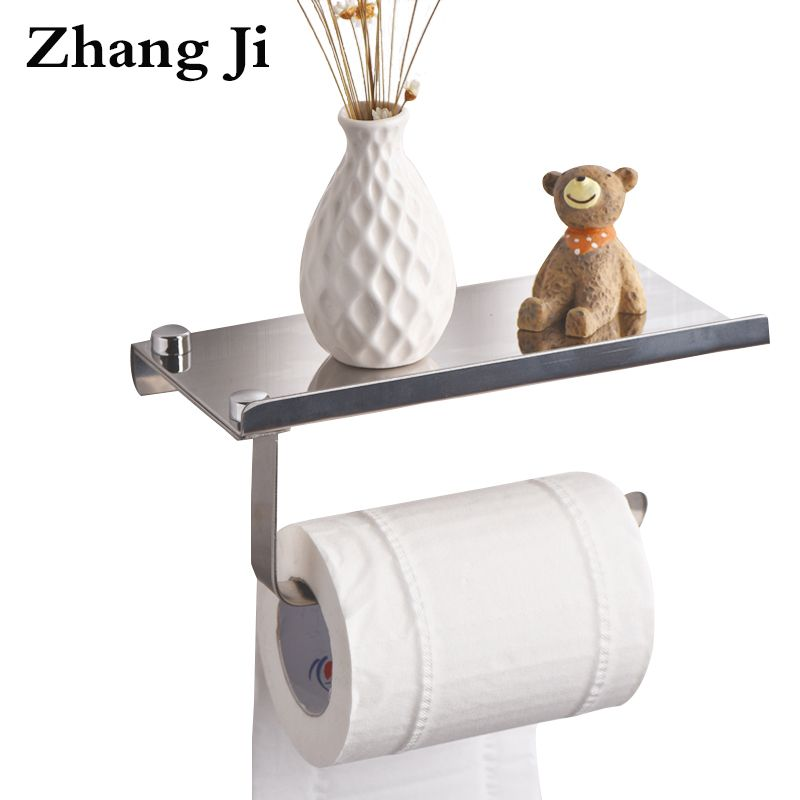 Concise Wall Mounted Toilet Paper Holder Bathroom Fixture