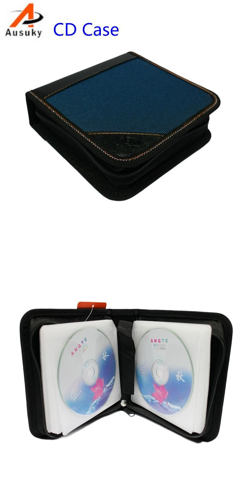 A Ausuky Portable 40 Disc Capacity DVD CD Case controller pencil for Car Media Storage CD storage Bag -20  sc 1 st  Pinterest & A Ausuky Portable 40 Disc Capacity DVD CD Case controller pencil for ...