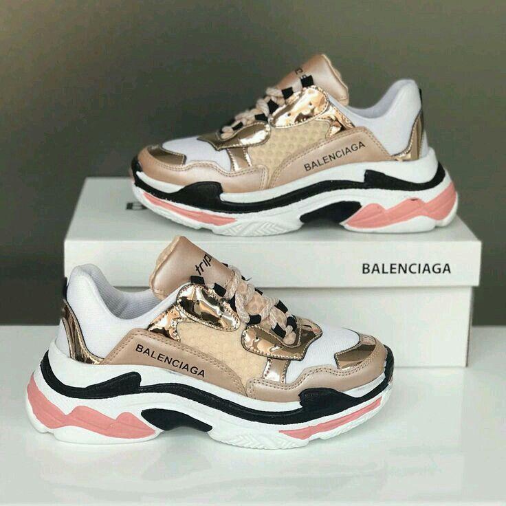 low priced b7ec2 c2024  hoes Flache Schuhe, Sportschuhe, Balenciaga Schuhe, Sneaker Damen,  Laufschuhe,