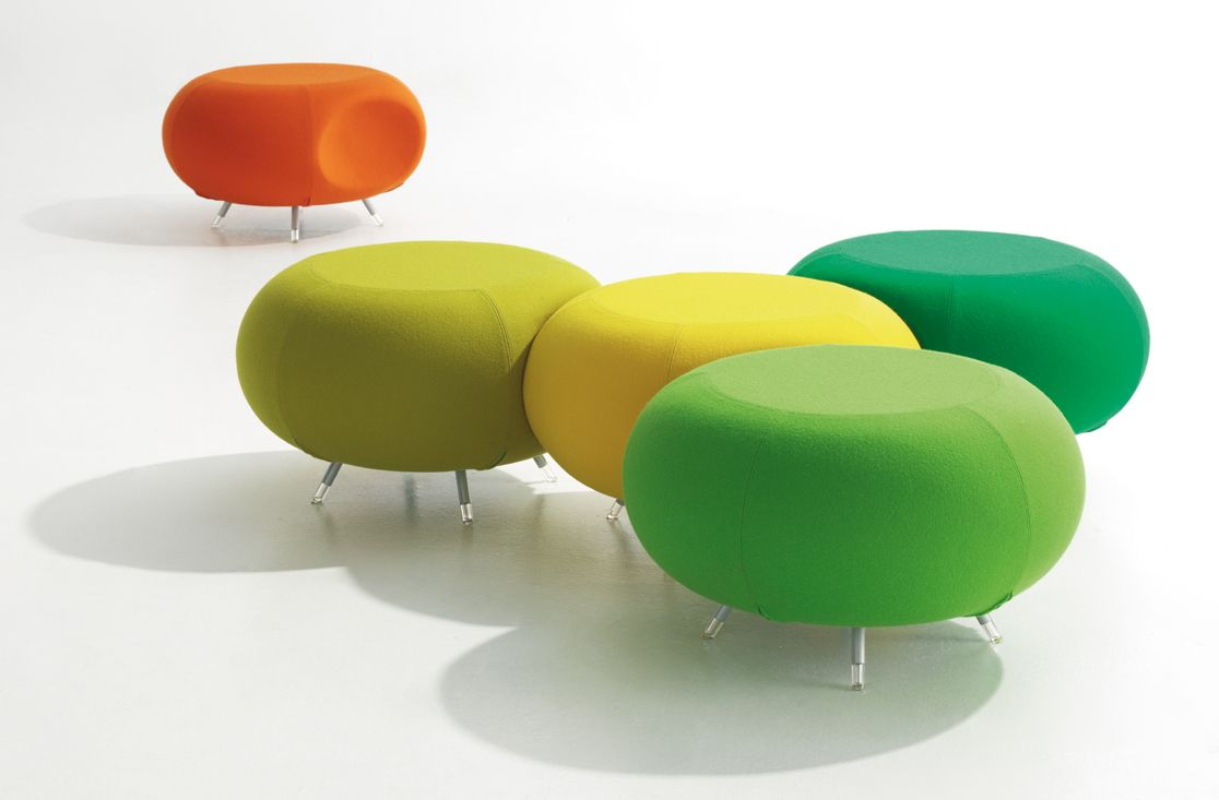 Pebble tavolino ~ Allermuir pebble via tvoi poufs pods lounge