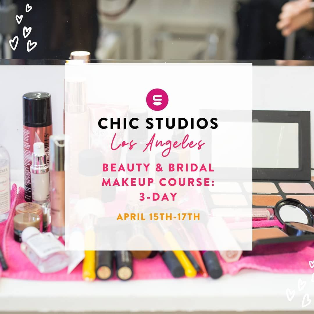 Los Angeles Beauty Bridal Makeup Course 3 Day Coming Up April 15th 17th Enroll In Our Beauty Bu In 2020 Makeup Course Bridal Beauty Makeup Beauty Business