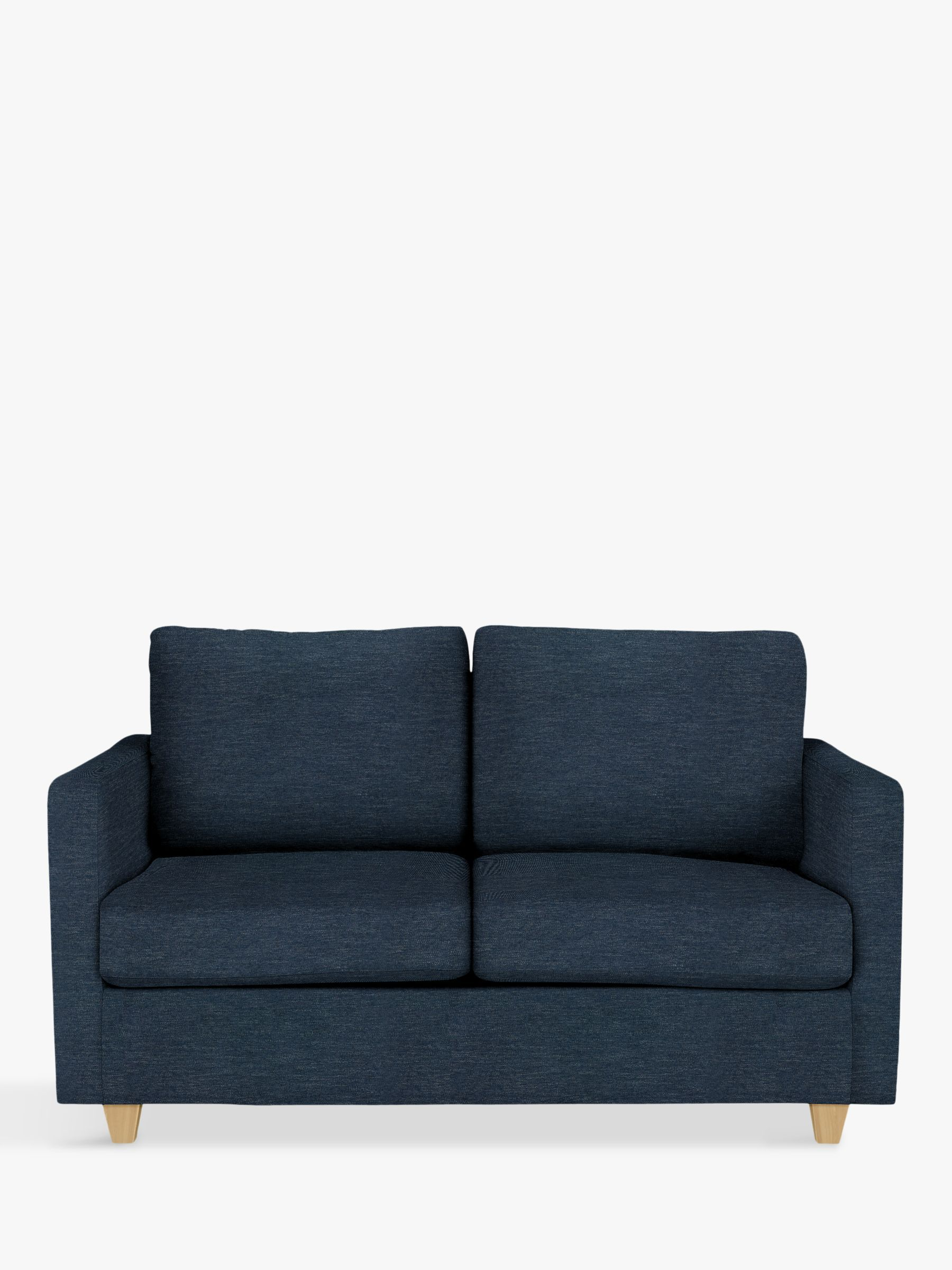 John Lewis Partners Barlow Small 2 Seater Sofa Bed With Pocket Sprung Mattress Erin Midnight 2 Seater Sofa Sofa Bed Sofa