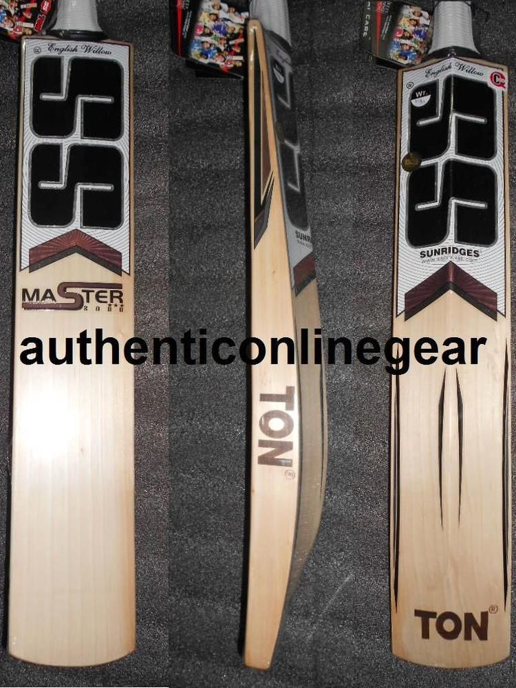 fe95073db11 SS TON MASTER 2000 ENGLISH WILLOW GRADE-2 SH SENIOR CRICKET BAT FREE SHIP  KNOCK (eBay Link)