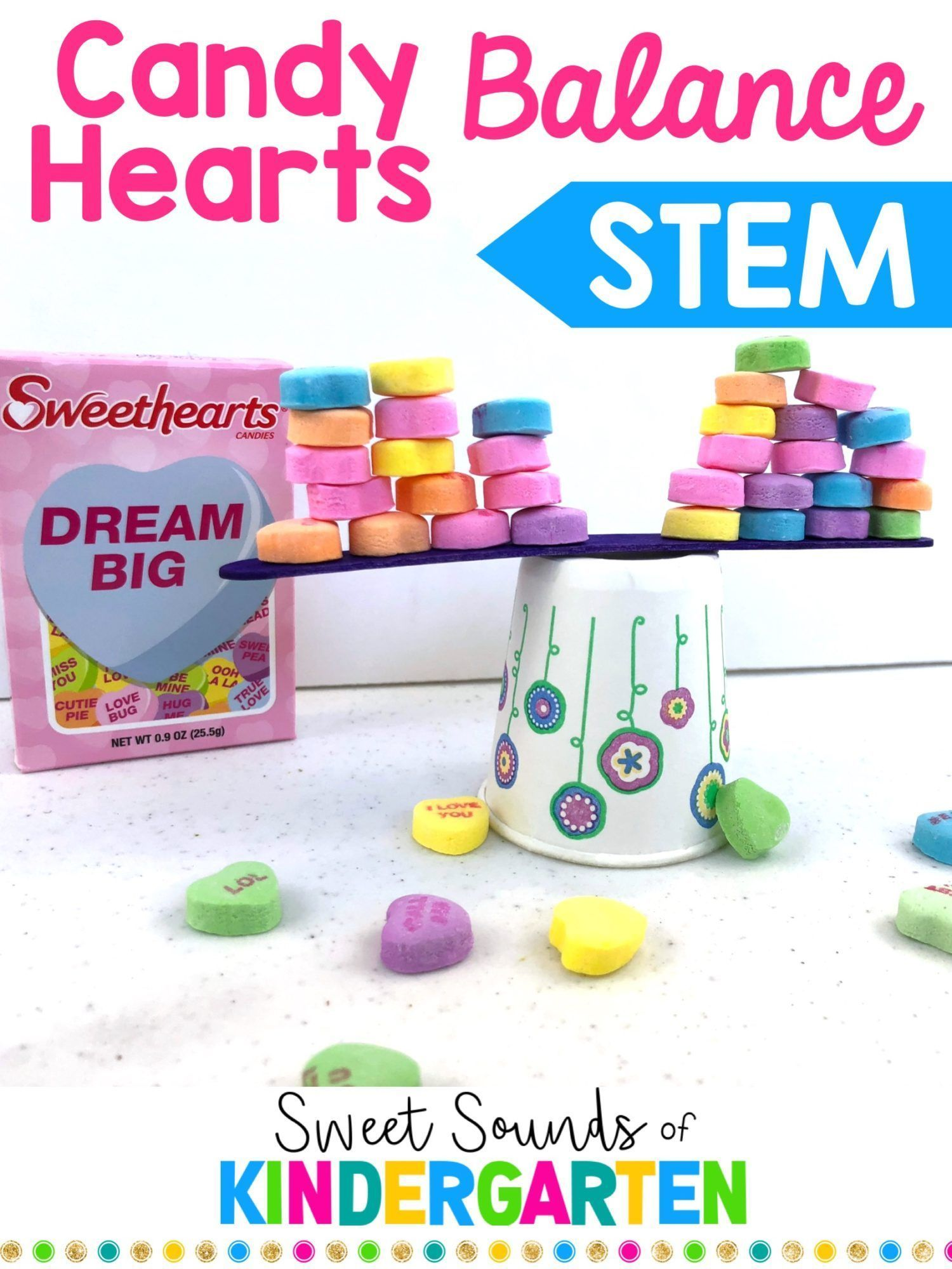 Candy Heart Sorting Worksheet