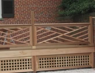 wood deck railing design ideas plenty deck railing ideas httpawoodrailingcom