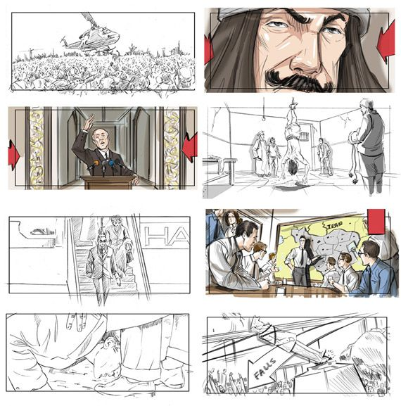 Argo And The Necessity Of Storyboards  Storyboards Inc  News