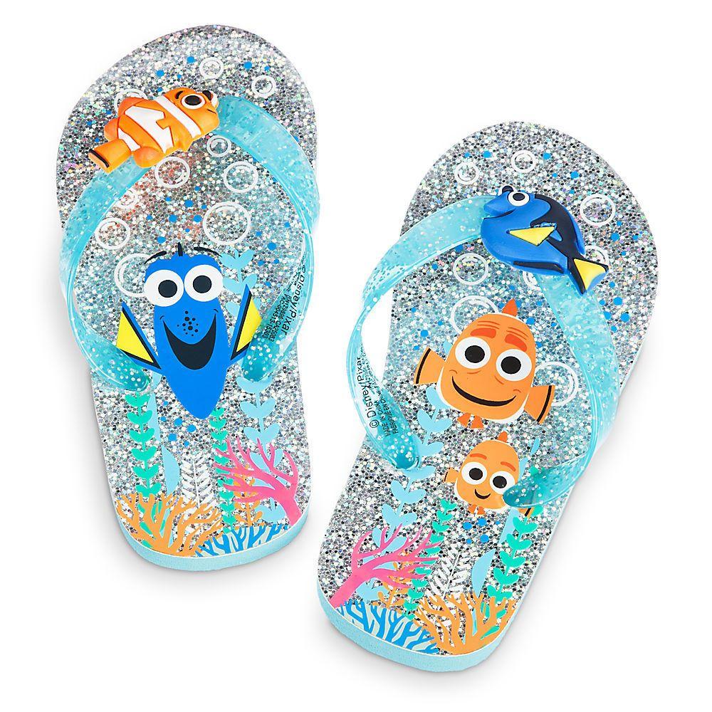 Flip Flops Beach Sandal Disney Princess Pink Infant Toddler Youth Girl New 9-10