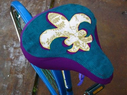 Handmade Bicycle Seat Covers