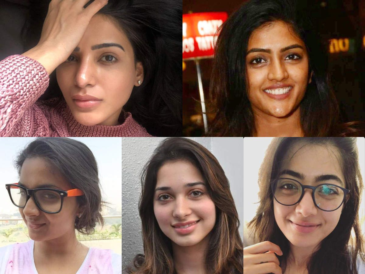 Actresses who embrace their bare faces proudly in 2020
