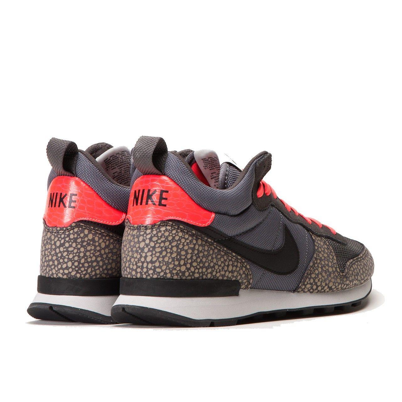 meet d9ef1 9f533 Nike Internationalist Mid PRM (Cool Grey   Black) 682843-002