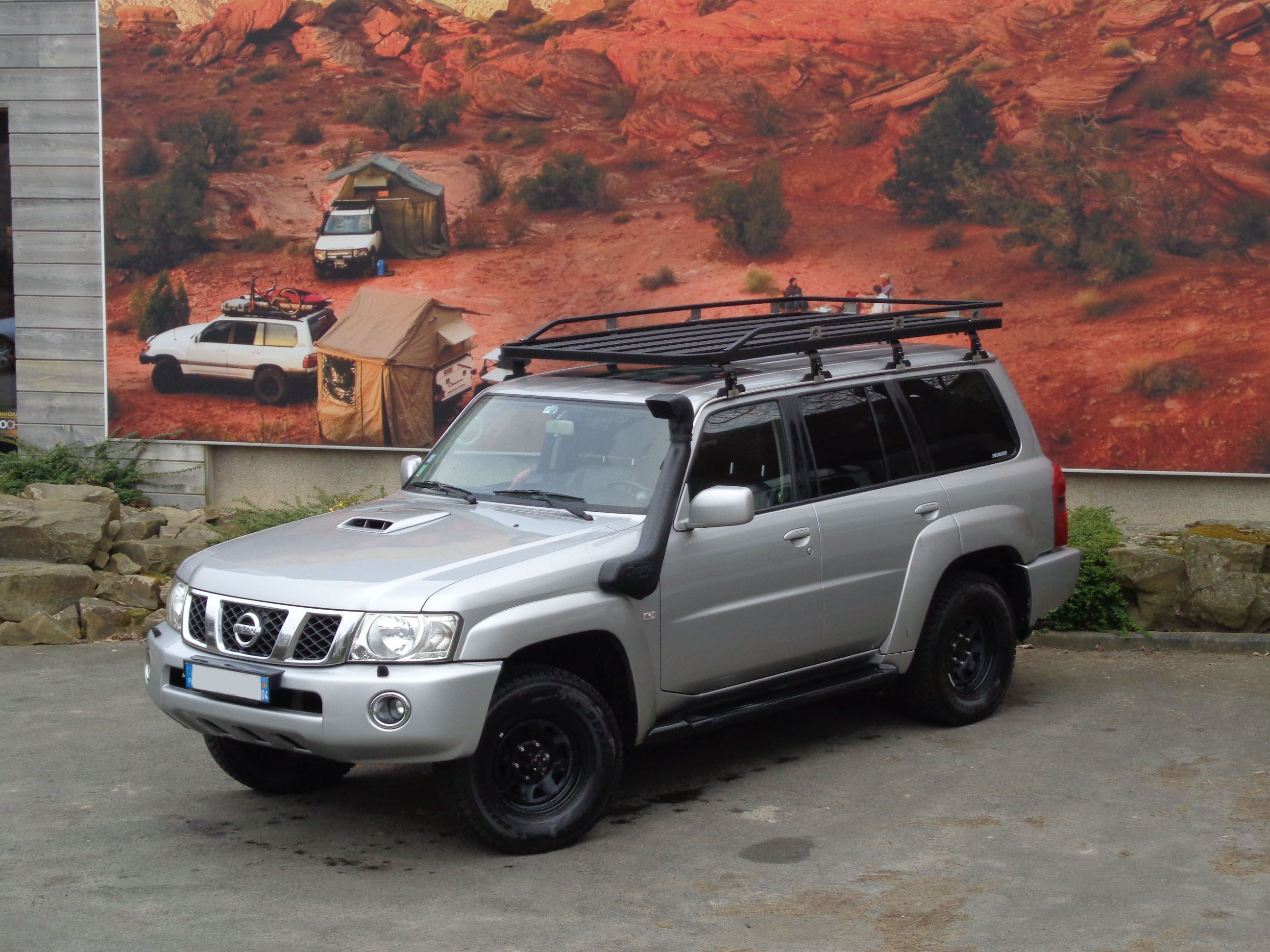 Tembo 4x4 Roof Rack On A Nissan Patrol Nissan Patrol Nissan Automobile Companies