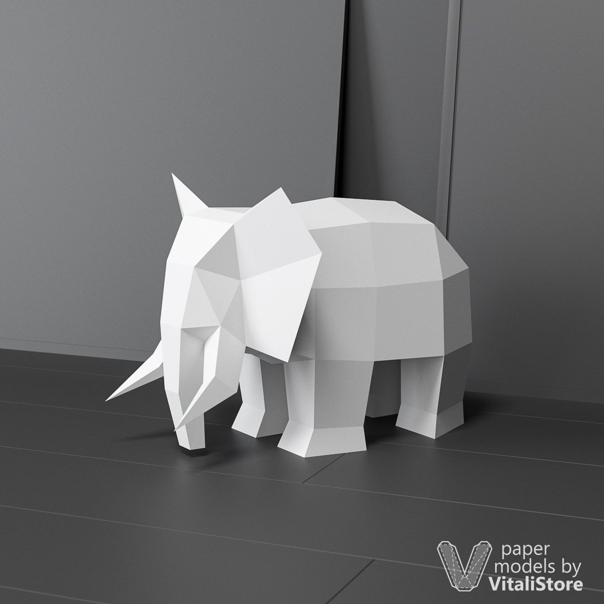 Black & White Printables Archives » OrigamiTree.com | 1200x1200