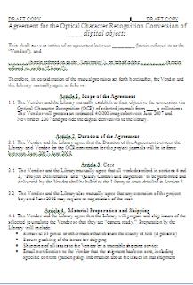 Draft Copy Agreement Agreement Letter Sample Pdf Sample