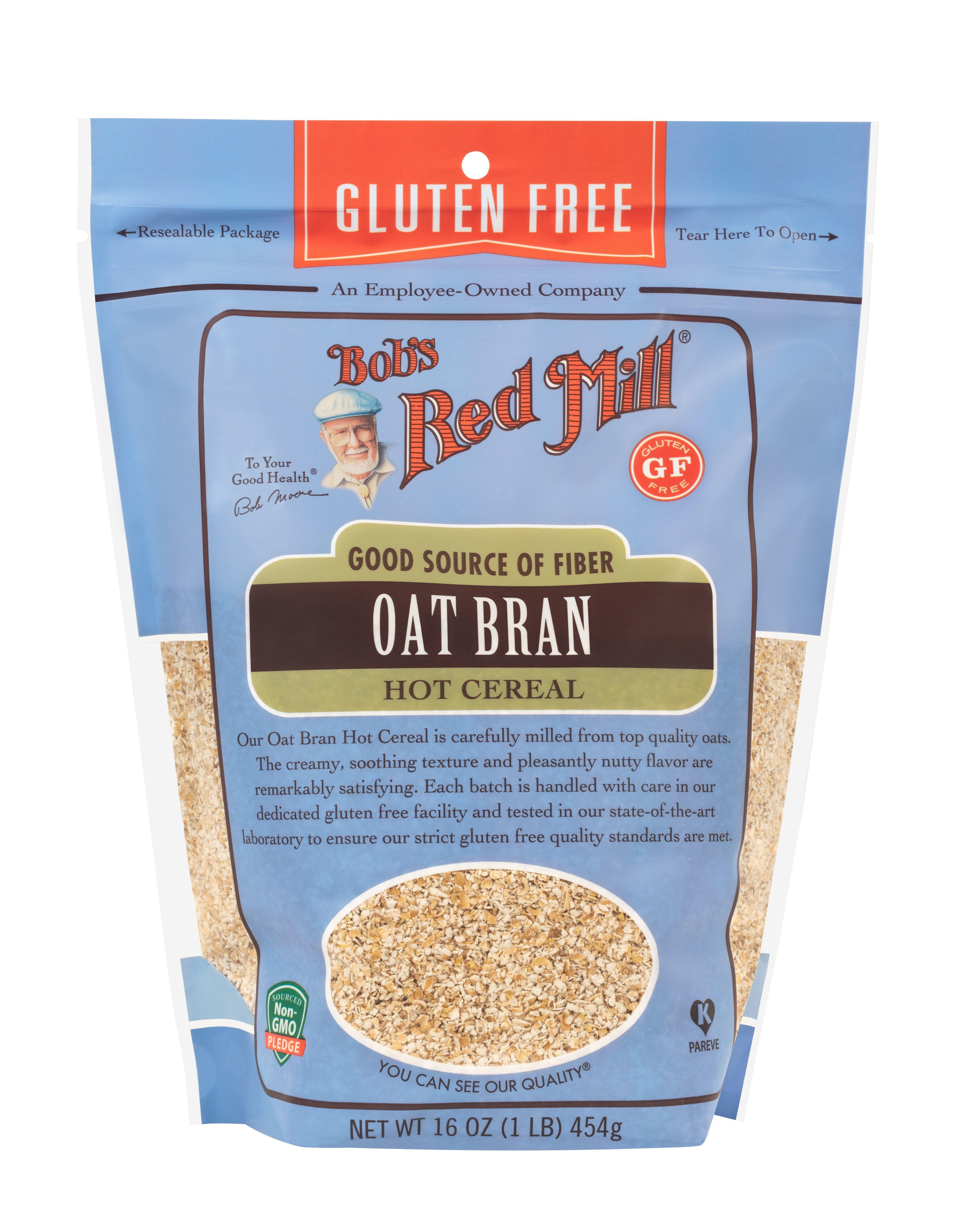 Gluten free oat bran oat bran gluten free bobs red mill