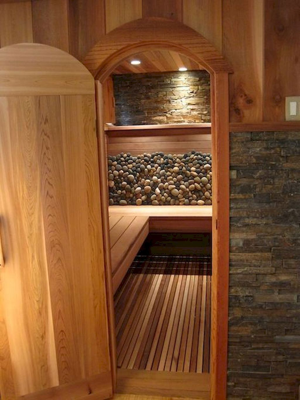 Calm down with household and mates in your house sauna
