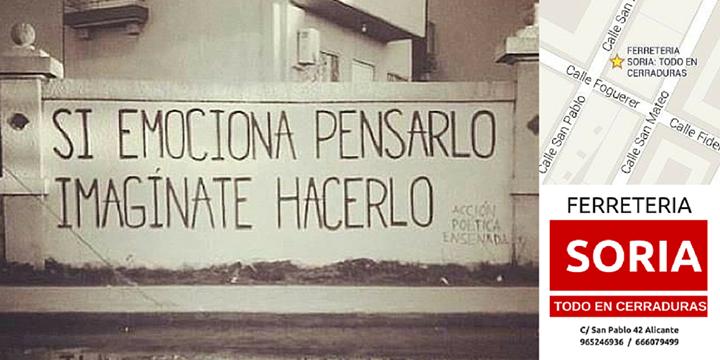 Buenos días  Desde Ferretería SORIA: Todo en cerraduras en #Alicante Buen día para todos