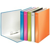 Leitz WOW Laminated A4 Ring Binder