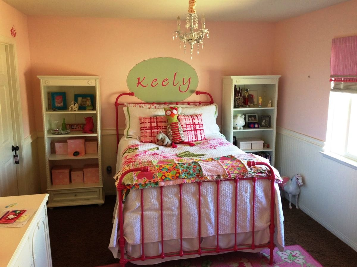 Shared Girls Room Sisters Wall Colors