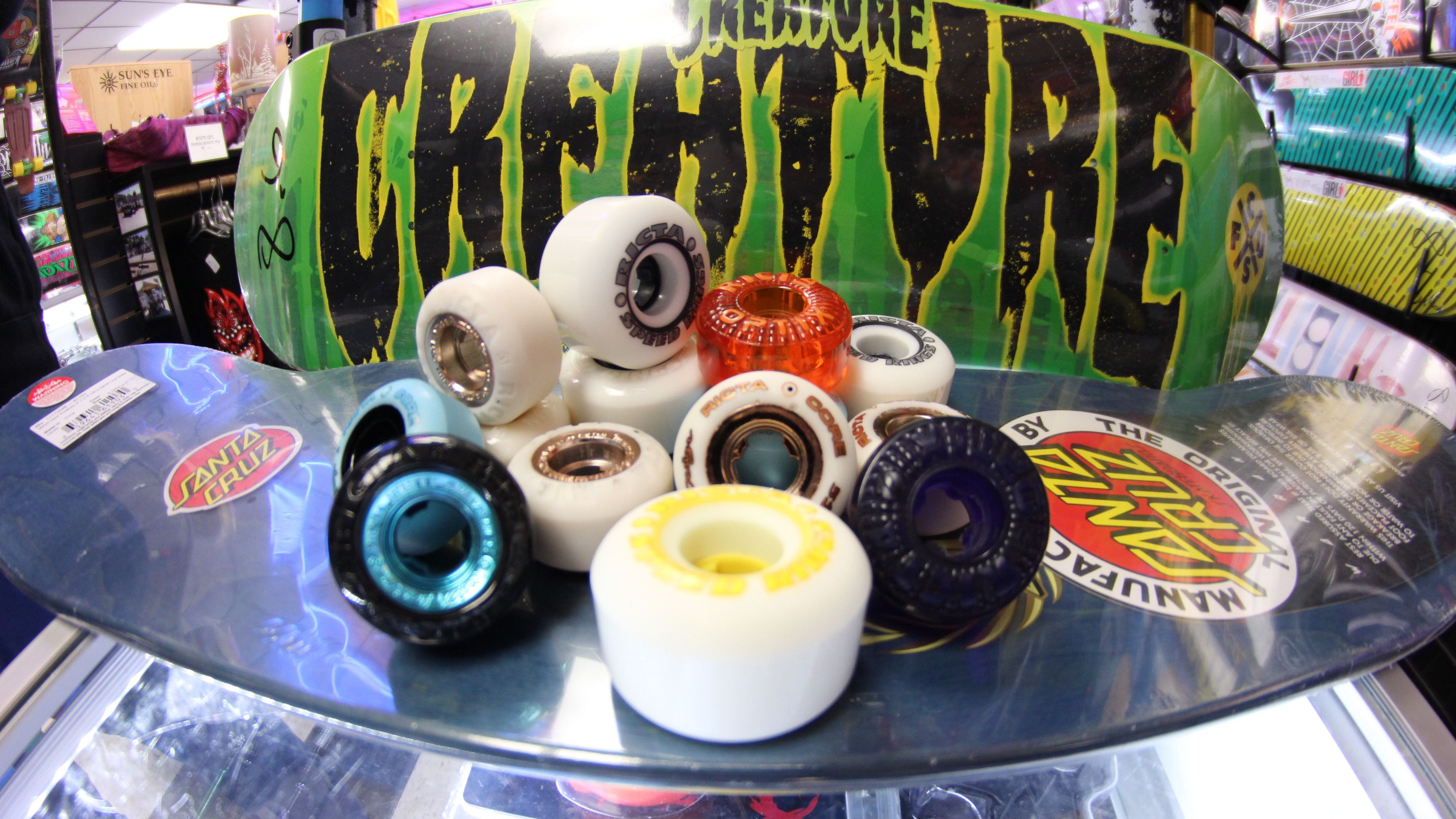 Wild Wednesdays!!! Buy any set of Ricta wheels and grab a #FREE set of bearings!!!!