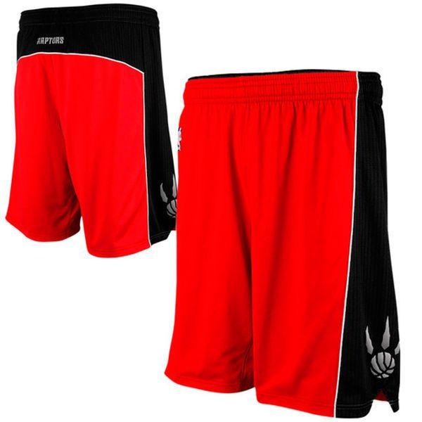 Toronto Raptors Adidas NBA Authentic On Court Shorts Red Black Mens Sz 2XL+2 NEW