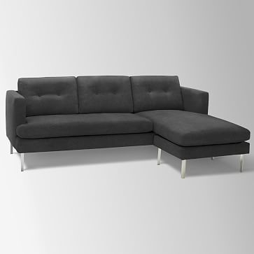 Jackson Sectional Performance Velvet Shadow Products