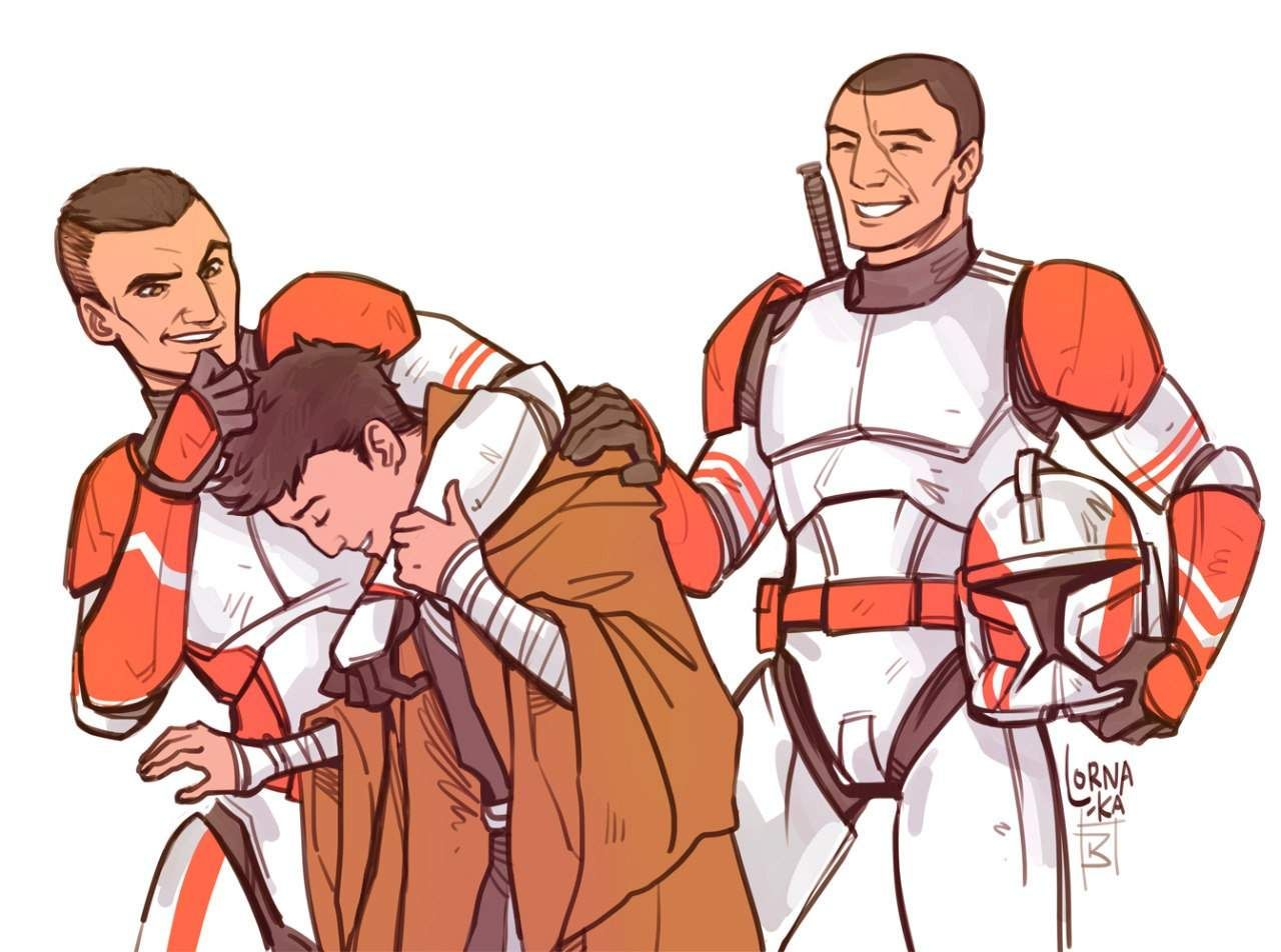 Caleb And Commander Grey And Styles Star Wars Artwork Star Wars Art Star Wars Fandom