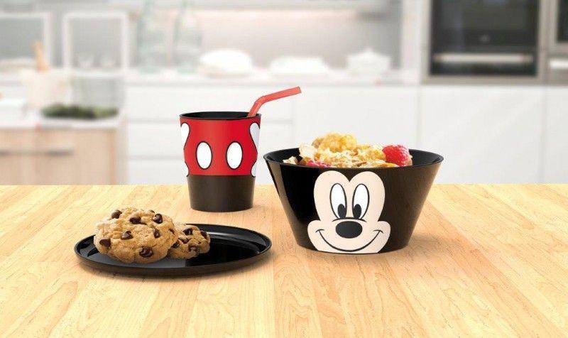 Tavolo Bambini ~ Set tavola per bambini disney mickey mouse piatti e bicchieri