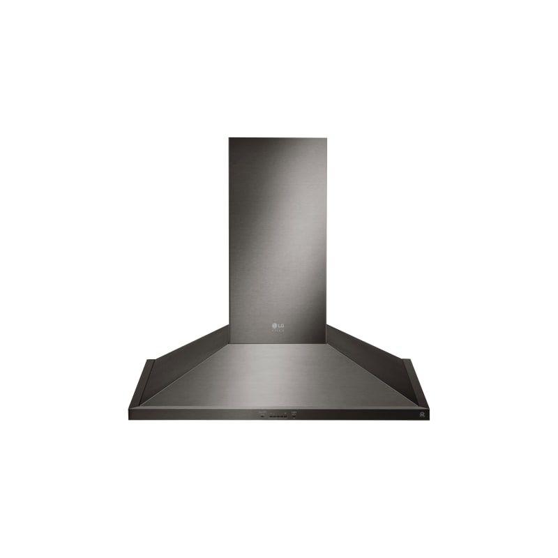 Lg Lshd3089 Range Hood Ceiling Fan Design Black Stainless Range Hood