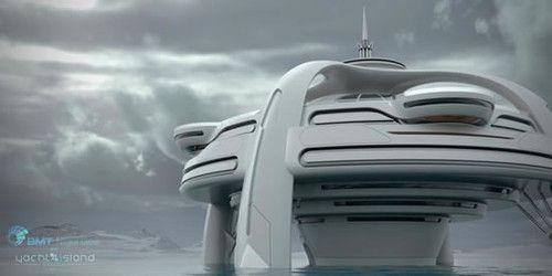 유토피아 요트, 미래의 섬