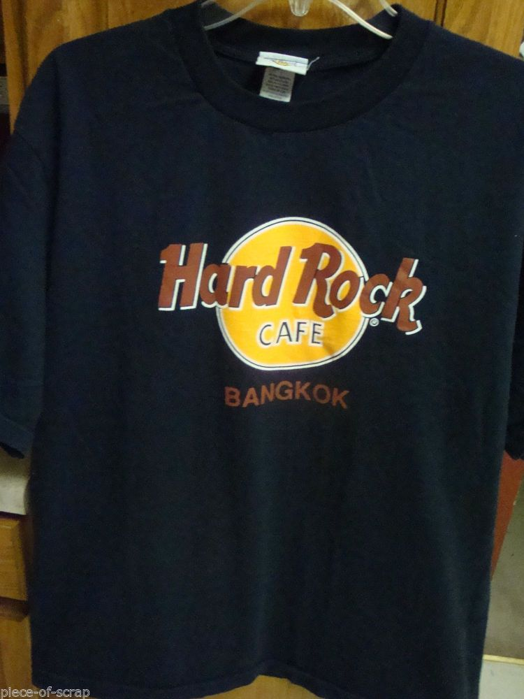 2f01c541 HARD ROCK CAFÉ BANGKOK Mens Tee Shirt XL EXTRA LARGE Short Sleeve NWOT New