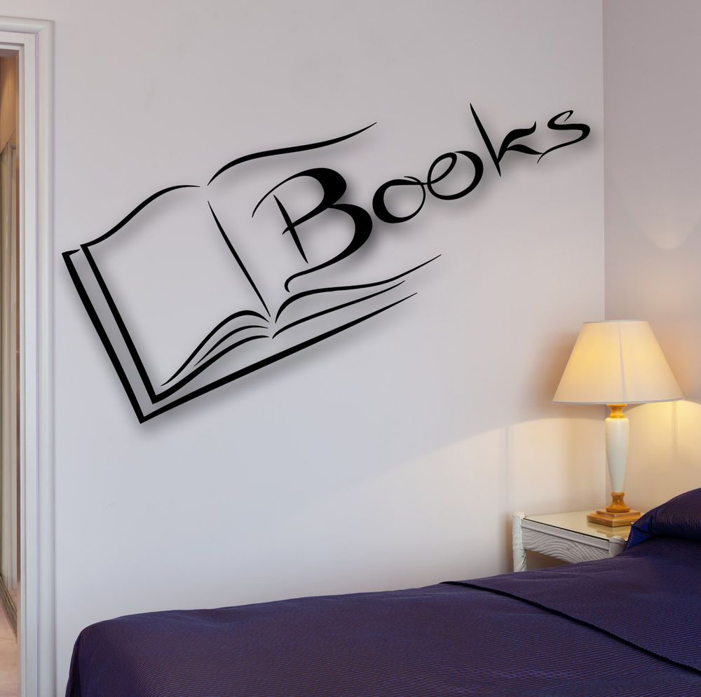 Books Wall Decal Reading Room Library Science School University Bookworm Ig2521 Ebay In 2021 Book Wall Library Wall Science Decor [ 995 x 1000 Pixel ]