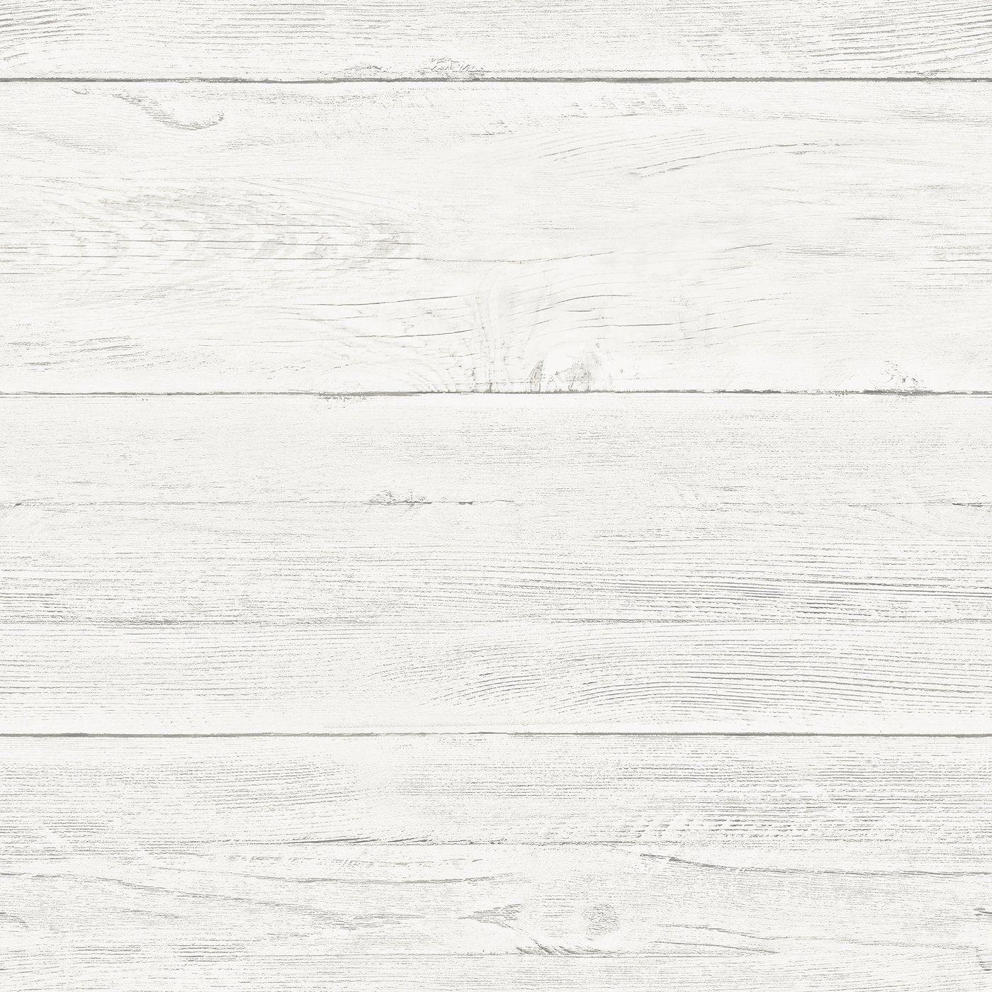 WallPops Shiplap Reclaimed Wood Peel and Stick Wallpaper