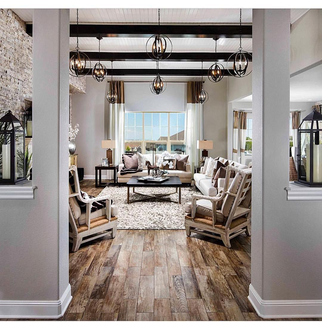 What do you guys think of this idea from @tollbrothers ? Scattered lighting fixtures instead of recessed lighting.