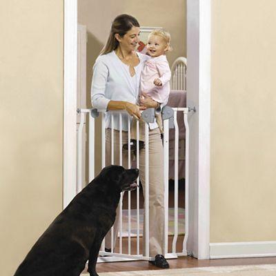 Extra Tall Gate With Alarm At 42 H This Sturdy Steel Baby Gate Is