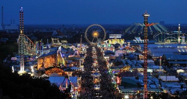 Oktoberfest, Munich, Germany.